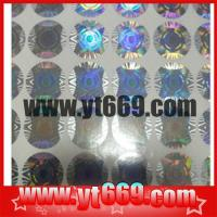 China Holographic Hologram Label/ Sticker wholesale