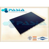 China Super Flat Surface Aluminium Honeycomb Door Panels PVDF Roller Coated on sale