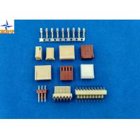 China Pitch 2.54mm Single Row 02p To 20p Housing PA66 UL94V-0 Wire To Board Connectors wholesale