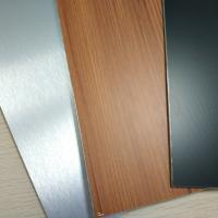 China Brushed Finish Stainless Steel Composite Panel Exterior Wall Cladding Designs wholesale