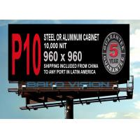 China 1/4 Scan P8 Refresh Rate>1920, WiFi 3G 4G Wireless Outdoor Advertising Billboard wholesale