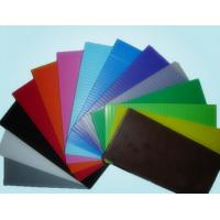 China Reusable Non - Toxic 6mm 10mm PP Hollow Sheet Corrugated Plastic Sheets 4x8 wholesale