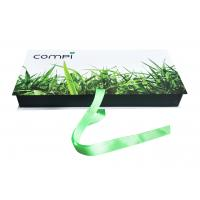 China Custom Spot UV Logo Recycled Green Folding Paper Gift Boxes With Ribbon on sale