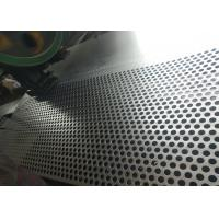 China 2mm Thickness Galvanized Perforated Metal Mesh With 12mm Round Hole wholesale