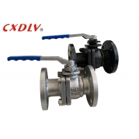 China Water Oil PTFE Seat DIN FM DN50 Flanged Ball Valve wholesale