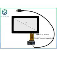 Wholesale 7 Inches Capacitive Touch Panel Cover Glass To ITO Glass For Touch Monitor, USB Interface from china suppliers
