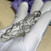 China PIAGET  brand  jewelry Piaget Rose bracelet in 18K white gold set with 190 brilliant-cut diamonds (approx. 1.32 ct). wholesale