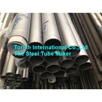 China Titanium Welded Seamless Alloy Steel Pipe TA3 TA9 TA10 0.5 - 2mm Wall Thickness wholesale