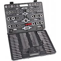 China 118pcs Carbon Steel / Alloy Steel Metric Tap and Die Sets , Metric Thread Cutting Tool on sale