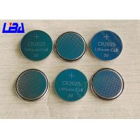 China Rechargeable Button Cell Battery , 160mAh Maxell Cr2025 Lithium Battery wholesale