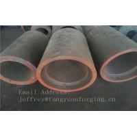 Quality C15  Forged Sleeves  Forged Tube / Block with hole Forged Ring Normalized And Proof Machined for sale