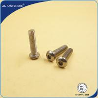 China Stainless Steel 304 316 Full Thread Socket Button Head Cap Screws ISO 7380 wholesale