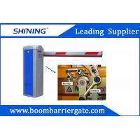 Buy cheap 1-6 Meters Aluminum Arm Automatic Barrier Gate , Parking Lot Swing Gates from wholesalers