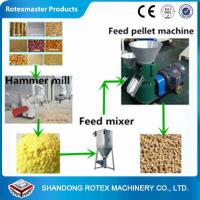 Quality Small Scale Poultry Feed Small Pellet Mill Animal Feed Pellet Production Line for sale