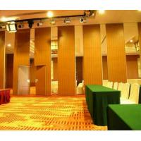 China Restaurant Retractable Screen Acoustic Room Dividers Folding Sliding Floor to Ceiling wholesale