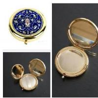 China Loose Powder Compact at Mother of Pearl Inlay on sale