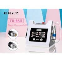 China Portable Fractional RF Microneedle Skin Rejuvenation Machine For Face Lifting on sale