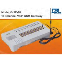 China 16 SIM Slots VoIP GSM Gateway PSTN , SIM Bank Gateway With Remote Control on sale