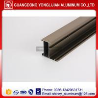 China Factory manufacturer Ghana anodized bronze window door aluminium profile, aluminum profile supplier wholesale