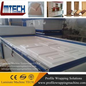 China MDF Kitchen vacuum membrane press machine wholesale