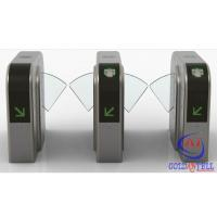 China Half Height Prestige Security Flap Gate Bidirectional Intelligent Flap Turnstile With Rfid Door Entry System wholesale