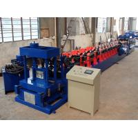 China Standard Z100-300 Z Purlin Roll Forming Machine With Automatic Size Adjust on sale