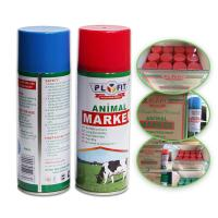 China Long Lasting Animal Marking Spray Paint 2 Years Shelf Life For Pigs Cows Horse Sheep wholesale