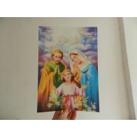 China PET 0.45MM 75lpi  3D animal Lenticular Printing photo with strong 3d  depth effect printed by UV offset printer wholesale