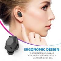 China T15 Wireless Bluetooth Earbuds , Noise Reduction Earphones For Portable Media Player wholesale