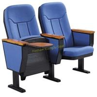 Buy cheap Automatic Fold Up Fabric Auditorium Chairs With Wood Writing Board / PP Back And from wholesalers