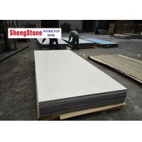 China White Color Phenolic Slab Corrosion Resistant For Chemical Plant Worktop wholesale