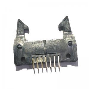 China Long Latch 2.54 Mm Pitch Pin Header , PBT Straight 14 Pin Header Connectors wholesale