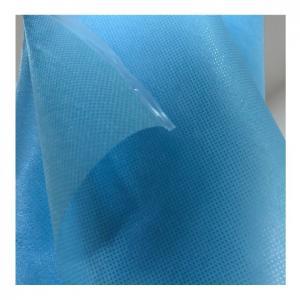 China Non Sterile Disposable Protective Nonwoven Fabrics Sesame Dot 100% Polypropylene wholesale