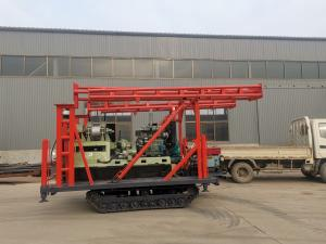 China Easy Move 200m Crawler Drilling Rig For Soil Testing SPT Drilling wholesale
