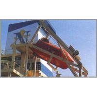 Quality Lifeboat davit,gravit luffing type davit, freefall lifeboat davit,single arm for sale