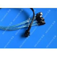 Quality Internal HD Mini SAS (SFF-8643) to 4 SATA Reverse Breakout Cable 0.5m for sale