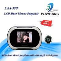 China 2.5ch TFT LCD door viewer peephole with wide angle 150 degrees on sale