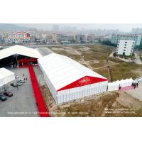China 20M X 50M  Luxury Wedding Tents With Hard Wall  for Outdoor Anniversary Event Party wholesale