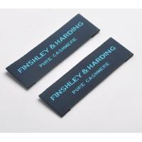 China Custom Logo Woven Neck Labels Pattern Brand Clothing Garment Tags And Labels on sale