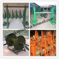 Quality Made Of Cast Iron,Ground-Cable Laying,Cable drum trestles,Cable Drum Jacks for sale