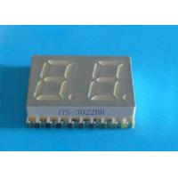 Buy cheap Cheap price 0.3inch dual 2 digits SMD 7 segments led display with super red JYS-3022BR from wholesalers