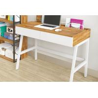 China Home Nordic Simple Creative Desktop Computer Desk With Drawer , Stomized Color wholesale