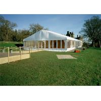 China 15m By 30m Christmas Festival Tent With Double Glass - Wing Door wholesale