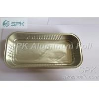 Quality 2 lb Rectangular Aluminium Foil Food Containers For Baking Dishes / Pans for sale