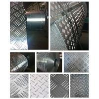 China Fireproof 5 Bar Aluminum Tread Plate , Aluminum Diamond Plate Wall Panels  wholesale