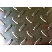 China Hot rolling 3mm 5052 embossed aluminum sheet used for stair tread or bus wholesale