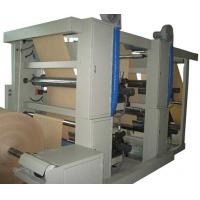 China High Efficient 4 color flexo press (with reel) for paper bag roll printing wholesale