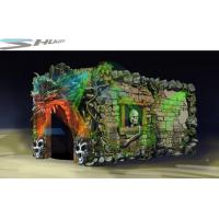 China Dinosaur Cinema Box, Mobile 5D Motion Theater Movie Equipment For Theme Park wholesale
