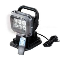China Auto LED Search Light Remote Control Style 2400 Lumen IP 67 Waterproof wholesale