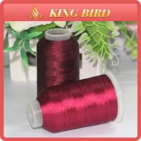 China Various Colors Embroidery Bobbin Crochet Thread For Plastic Spool on sale